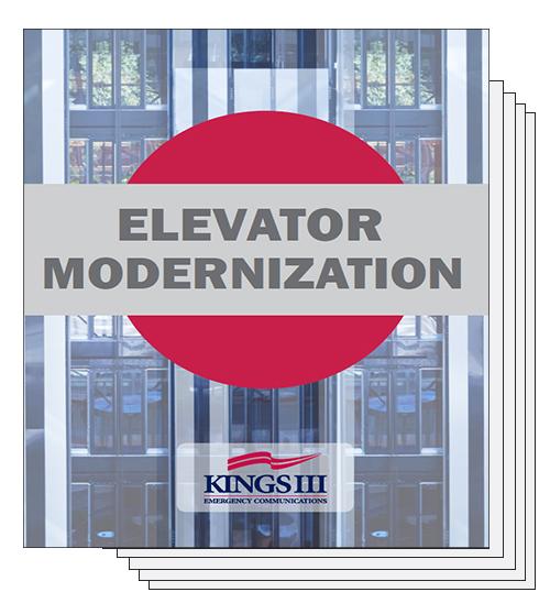 Elevator Modernization Cover Page
