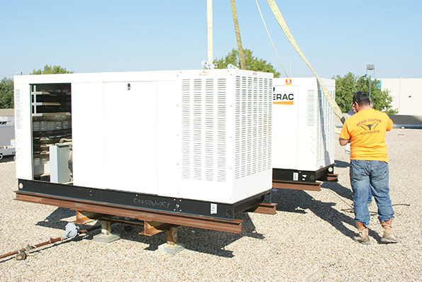 Kings III Increases Reliability by Installing New Generator