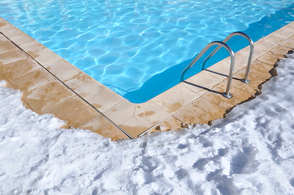 A Pool Phone in Winter?