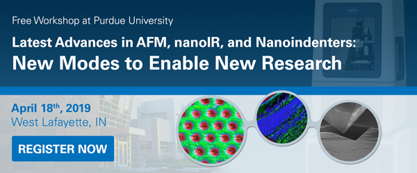 AFM, nanoIR, and Nanoindenter Workshop